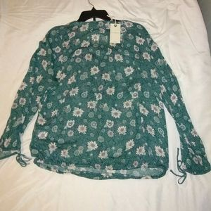 Lucky Brand Gorgeous Blouse